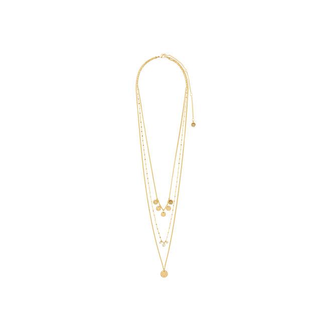 Pilgrim Carol Layered Necklace