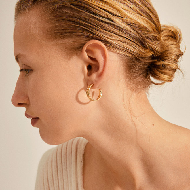 Pilgrim Legacy Hoop Earrings