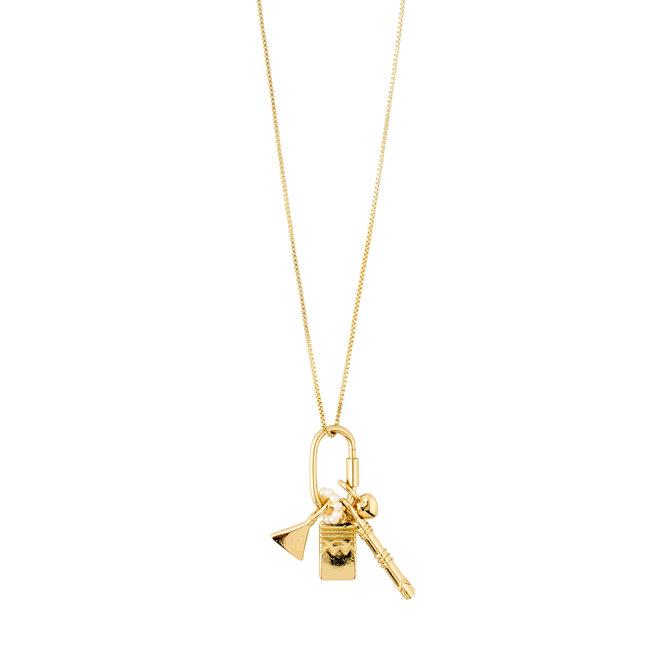 Pilgrim Native Beauty Long Charm Necklace