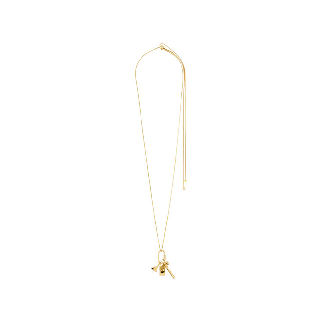 Long collier à pendentifs Pilgrim Beauté naturelle