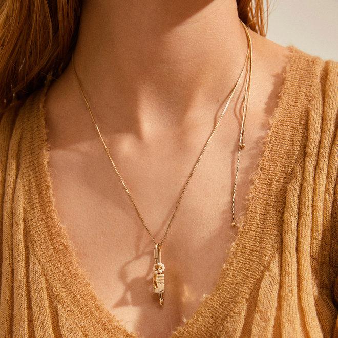Pilgrim Beauty Long Charm Necklace