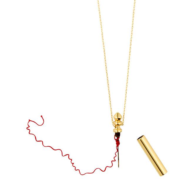 Collier de cordes rouges Pilgrim Connection