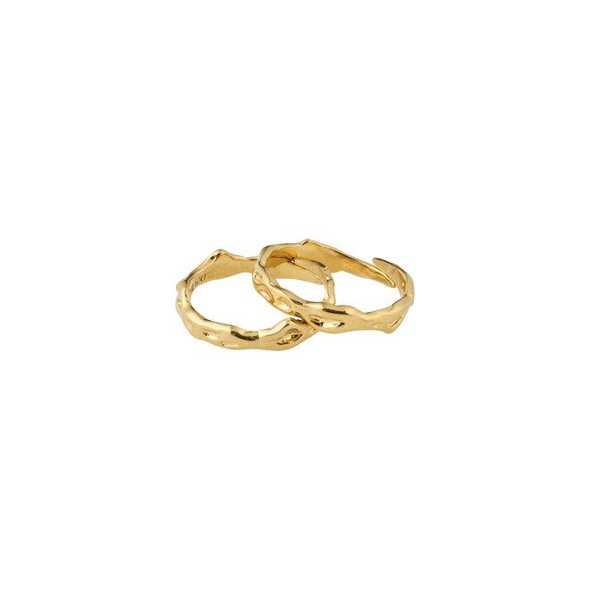 Pilgrim Rita Ring Set