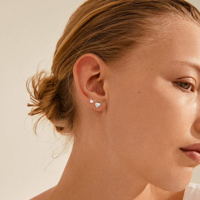 Boucles d'oreilles martelées Pilgrim Sophia