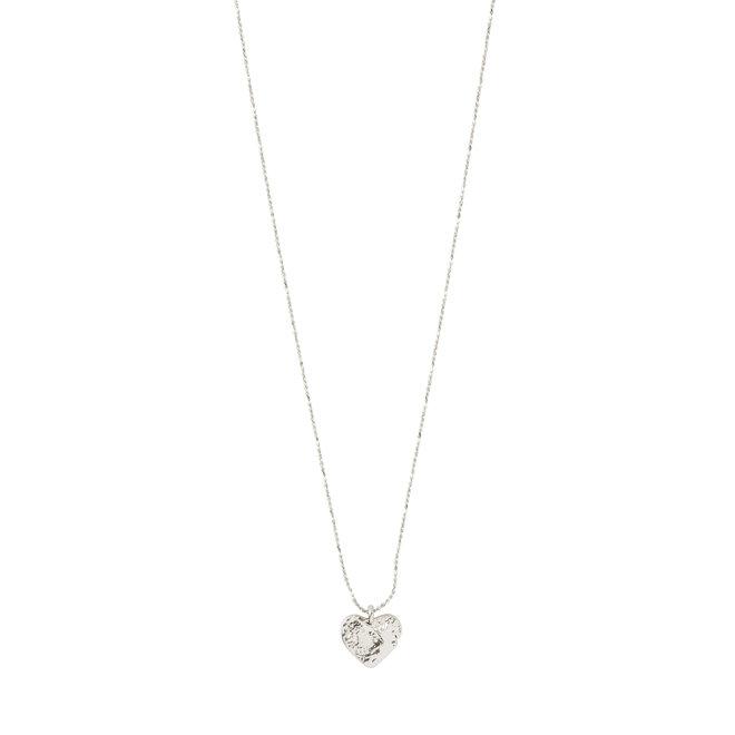 Pilgrim Sophia Hammered Necklace