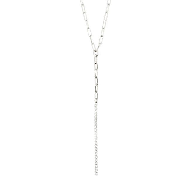 Pilgrim Serenity Y Crystal Necklace