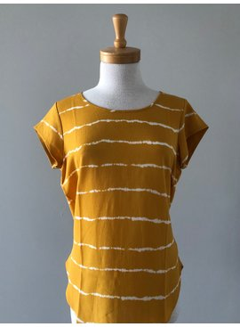 Only ONLY Golden Spice Tie Dye Blouse