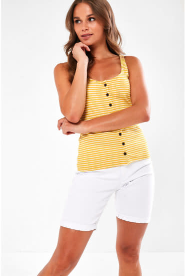 Only JDY Nevada Life Button Tank