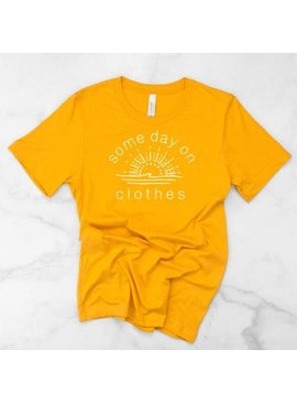 Lunar Style Lunar Style Some Day on Clothes Tee Yellow
