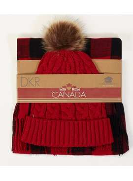 DKR Hat And Scarf Set