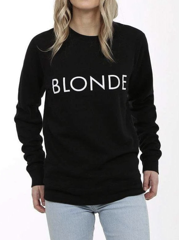 BRUNETTE Blonde Sweater