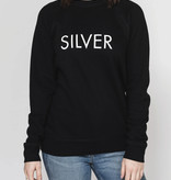 BRUNETTE Silver sweater