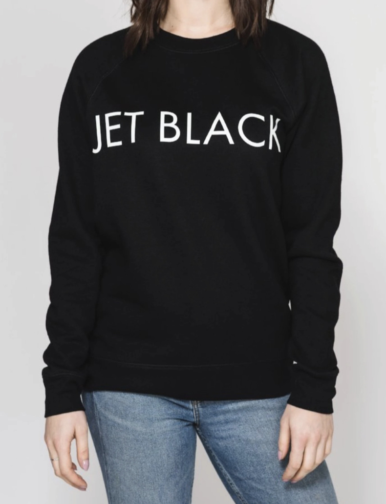 BRUNETTE Jet Black sweater