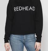 BRUNETTE Redhead crew sweater