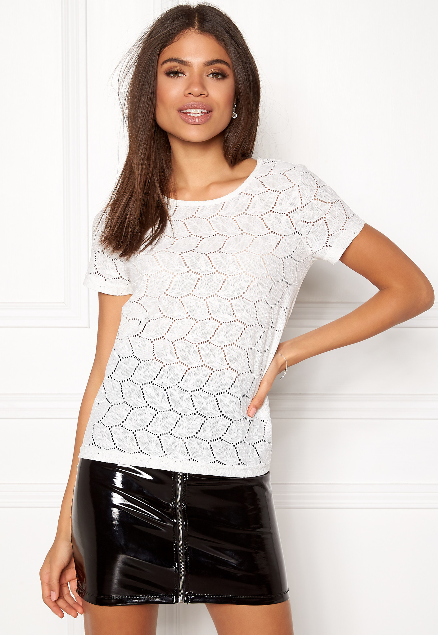 Only JDY Tag Lace Top