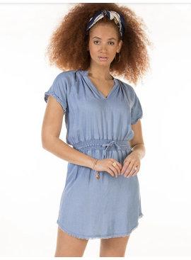 Dex Dex - Bleached Fray Dress