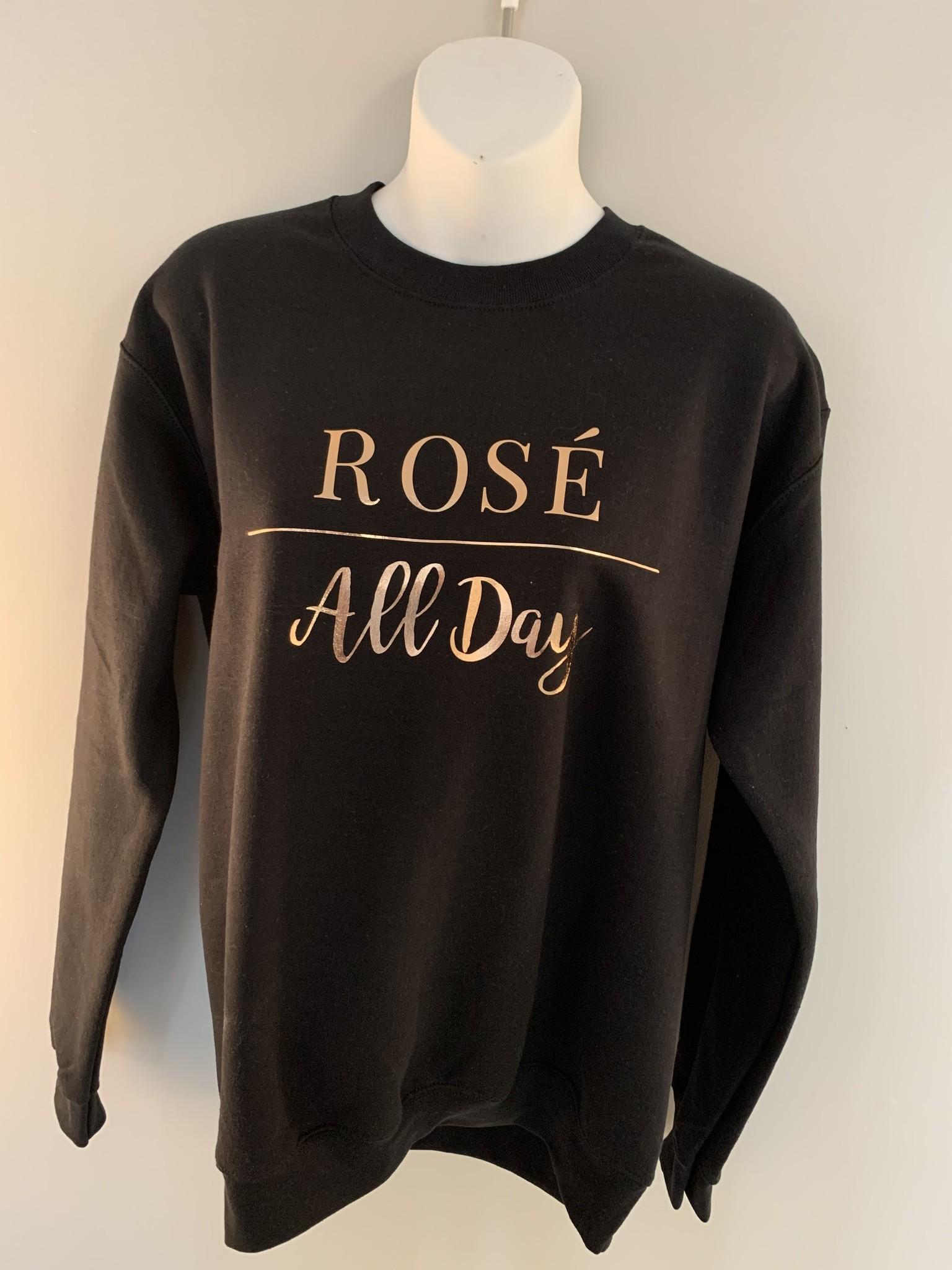 "Saltwater Designs Saltwater Designs ""Rosé All Day"" Sweater"