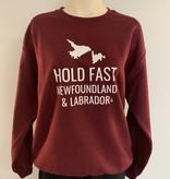 """Saltwater Designs Saltwater Designs """"Hold Fast Newfoundland & Labrador"""" Sweater"""