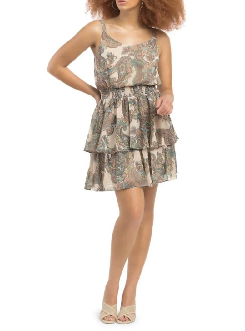 Dex Tiered Dress