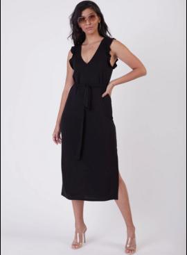 Dex Dex Ruffle Knit Maxi Dress