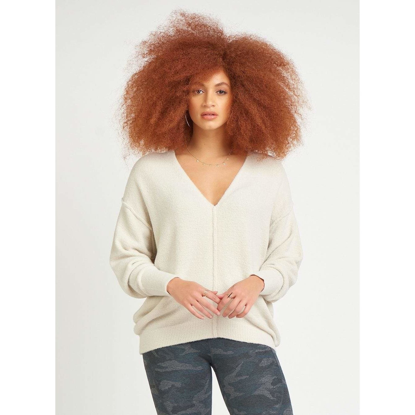 Dex Dex - V-Neck Sweater