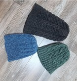 100% Hand Knit Wool Toque - Hand wash Cold Water