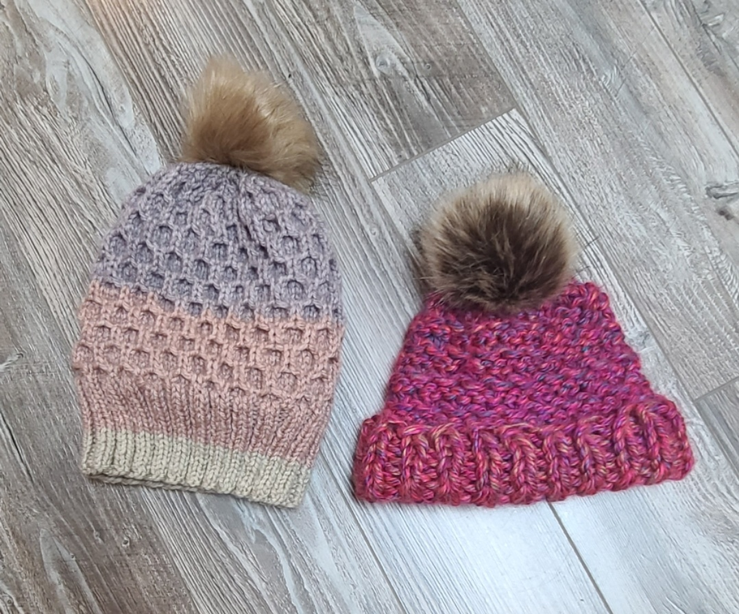Wool Blend Toque with Tassel - Hand Wash Cold Water
