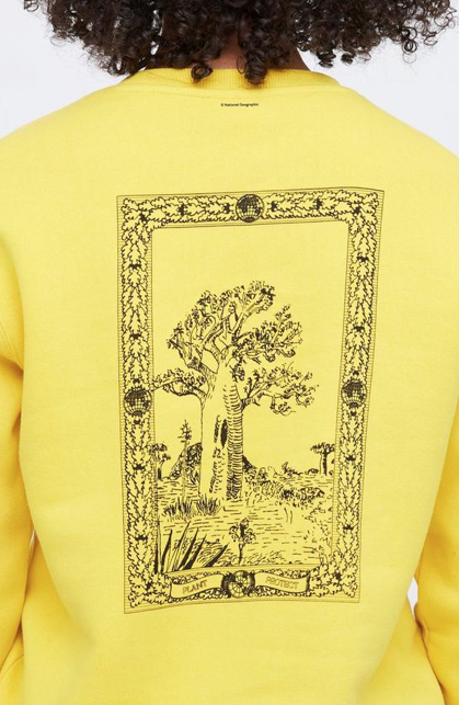 Ten Tree TenTree Nat'l Geographic Banner Crew - Super Lemon