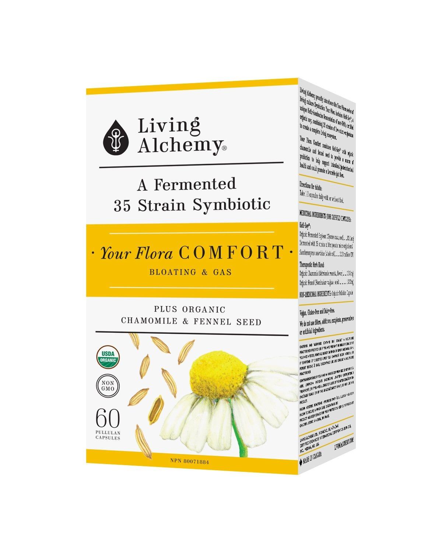 Living Alchemy Your Flora Comfort - 60 vcaps