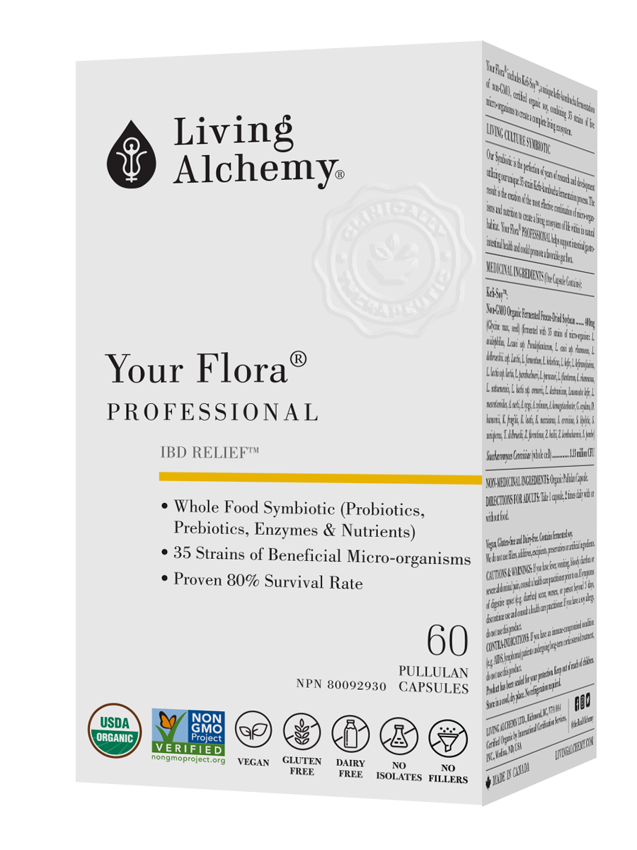 Living Alchemy Your Flora Professional - 60 vcaps