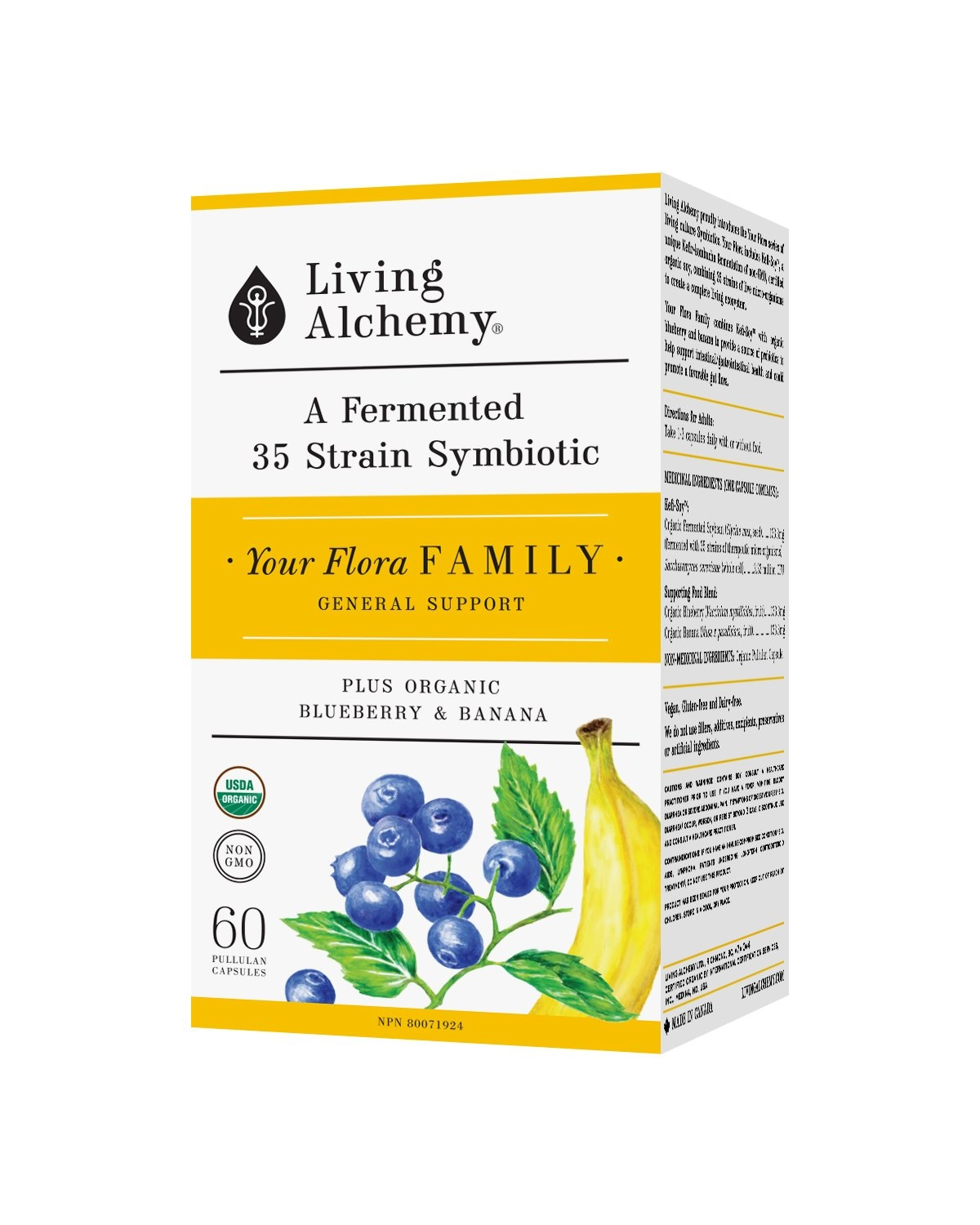 Living Alchemy Your Flora Family - 60 vcaps