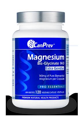CanPrev Magnesium Bis-Glycinate 140 extra Gentle - 240 v-caps
