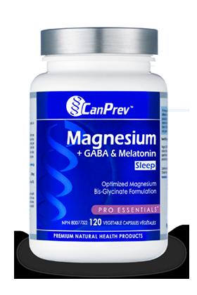 CanPrev SLEEP Magnesium + GABA & melatonin - 120vcaps