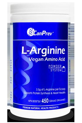 CanPrev L-Arginine Vegan Amino Acid - 450g