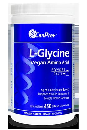 CanPrev L-Glycine Vegan Amino Acid - 450g