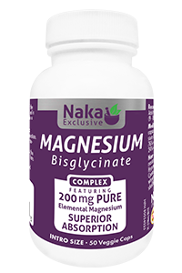 Naka Magnesium Bisglycinate complex 200mg - 150vcaps