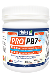 Naka Pro PB7+ 16 Billion L-Glutamine + Inulin - 250 g Powder