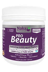 Naka PRO Beauty - natural orange - 250g Powder