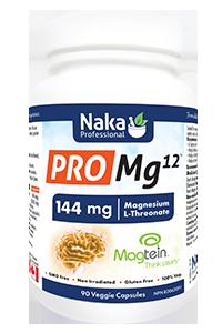 Naka Pro Mg12 144mg Magnesium L-Threonate – 90 capsules
