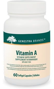 Genestra Vitamin A - 60 softgels