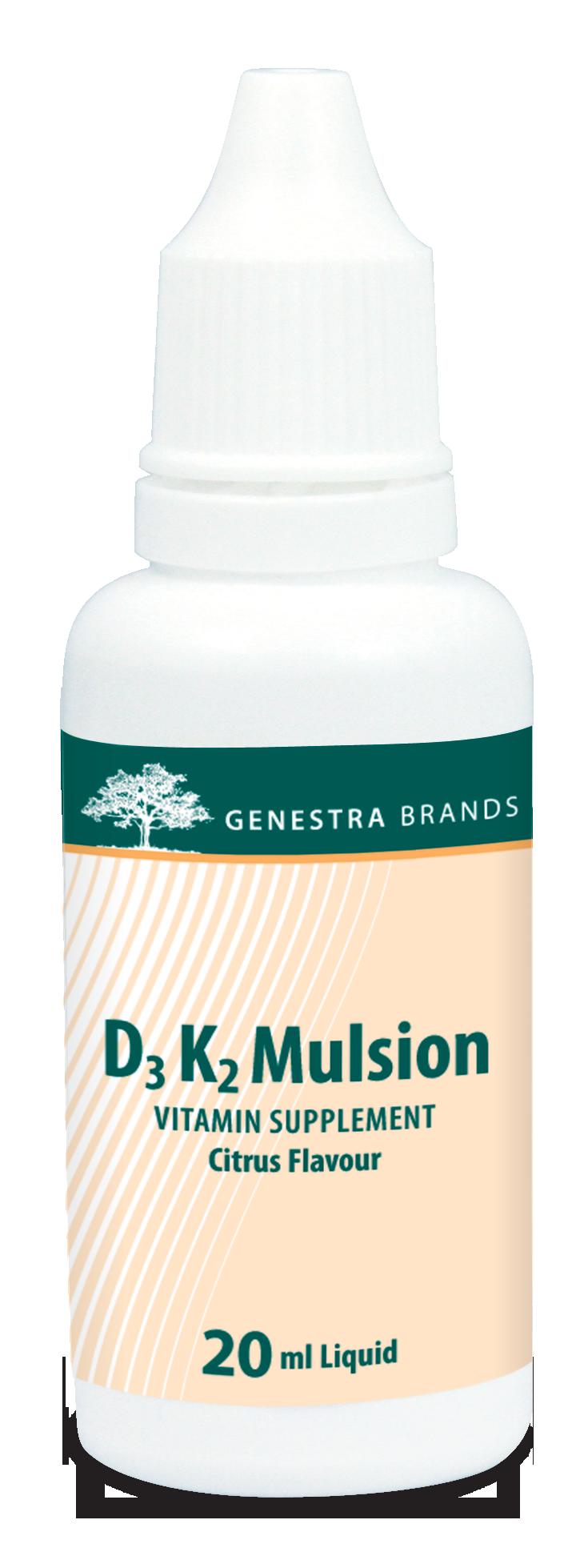 Genestra D3 K2 Mulsion – 20 mL