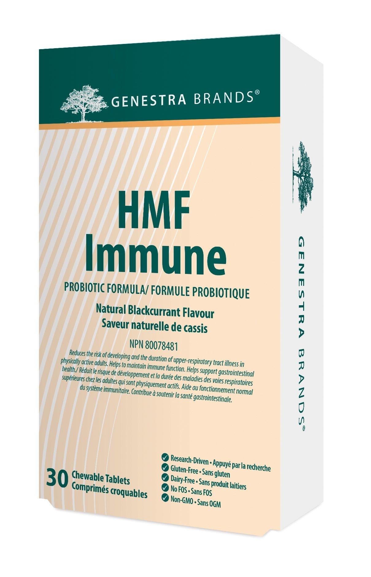 Genestra HMF Immune - 30 Chewable Tablets
