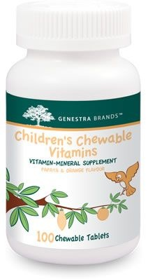 Genestra Children's Chewable Vitamins - 100 chew tabs