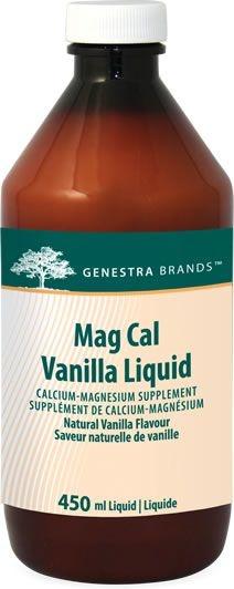 Genestra Mag Cal VANILLA Liquid - 450 mL