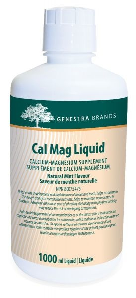 Genestra Cal Mag Liquid – 1000 mL
