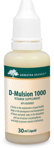 Genestra D-Mulsion 1000 – 30 mL - Citrus