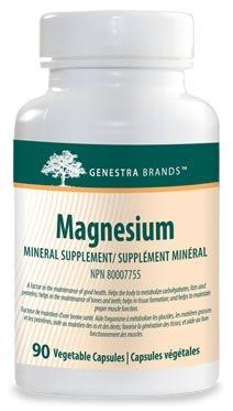 Genestra Magnesium aspartate/oxide 100mg - 90 caps