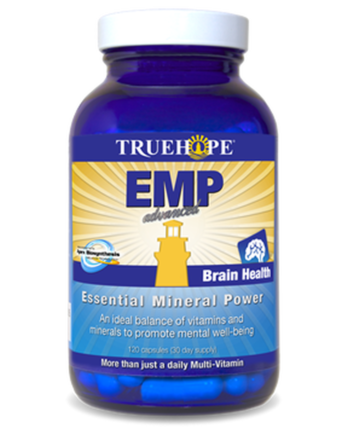 TrueHope EMP Advanced – 120 Vegetable Capsules