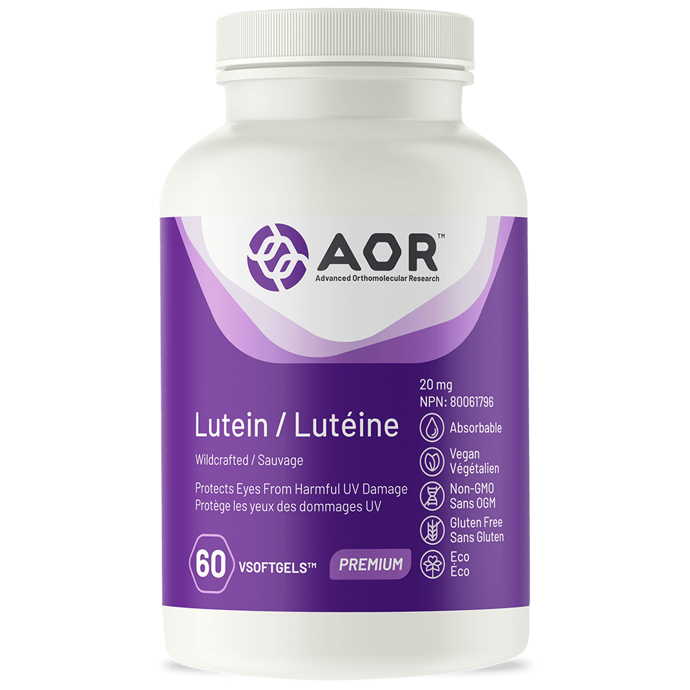 AOR AOR Lutein 20mg - 60 v-softgels