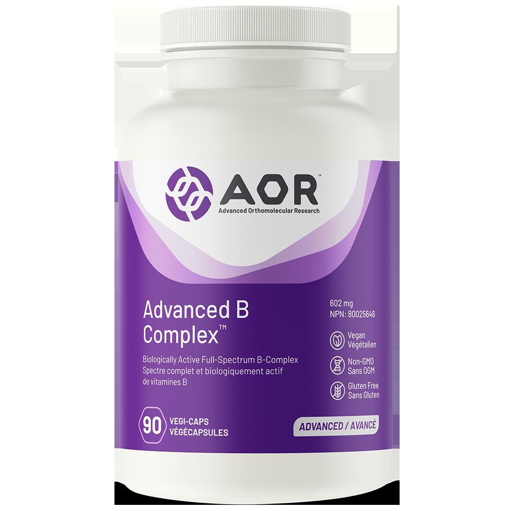 AOR Advanced B Complex 602 mg  - 180 vegi-caps